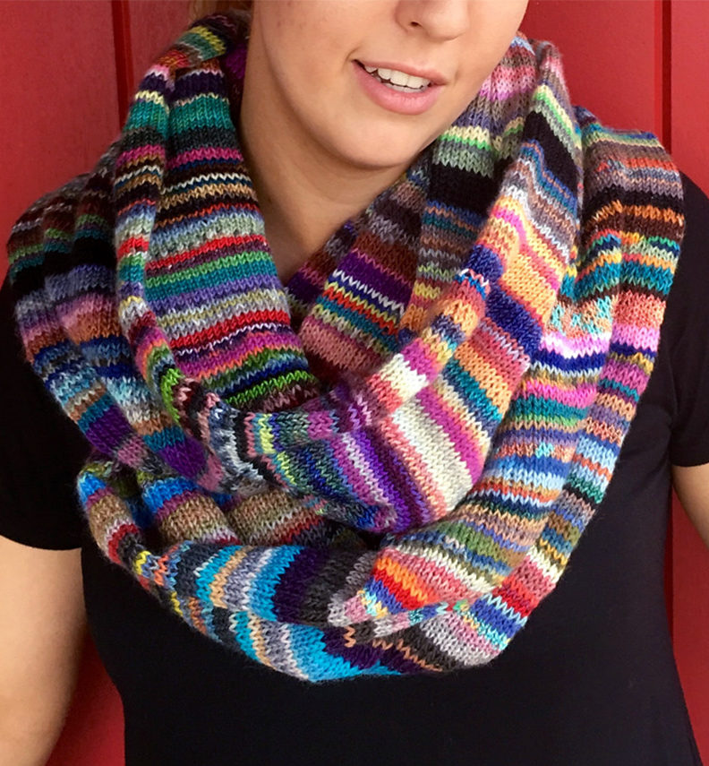 Free Knitting Pattern for Fiddly Bits Cowl