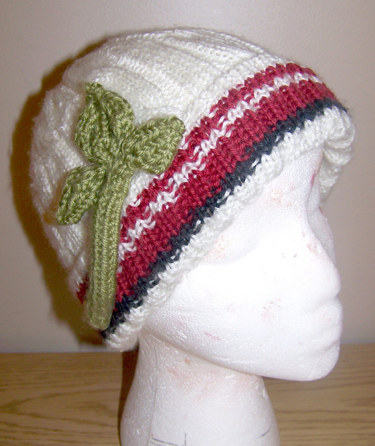 Free Knitting Pattern for Fifth Doctor Beanie