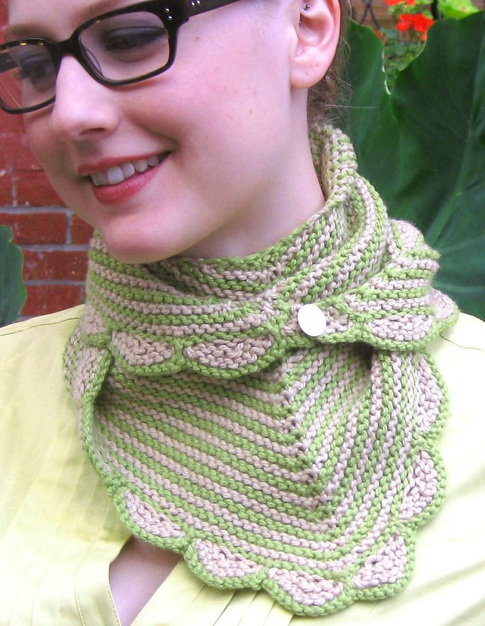 Knitting Pattern Figurehead Scarf