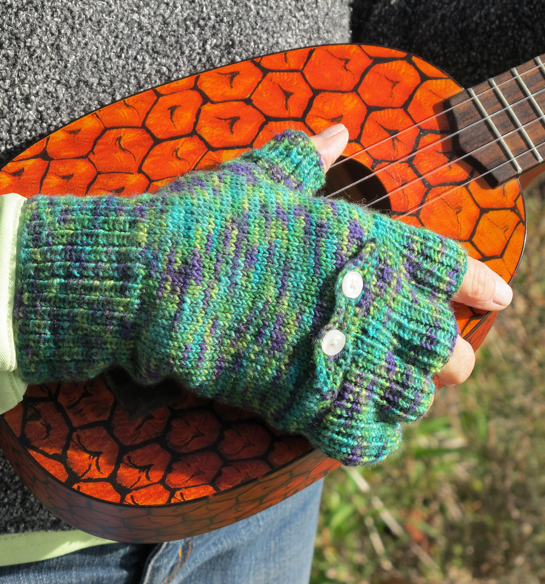 Knitting Pattern for Fingerless Gloves With Pockets