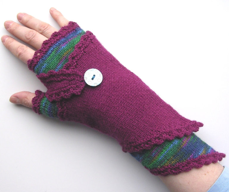 Knitting Pattern for Fingerless Wraparounds