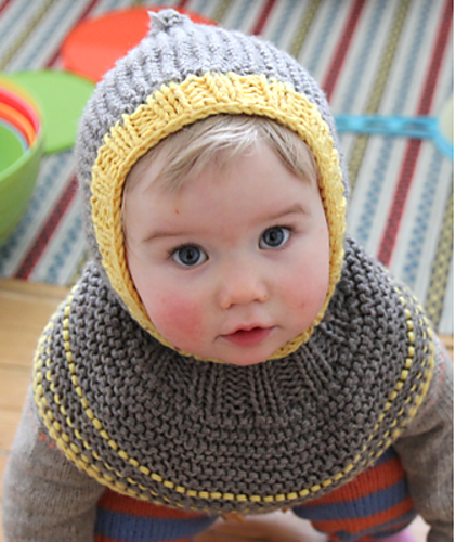 Knitting Pattern for Cook Kid Hood