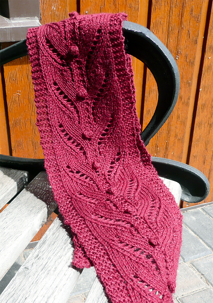 Free Knitting for Firefly Scarf