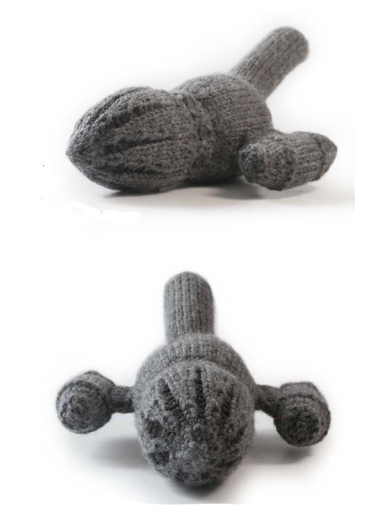Free knitting pattern for Firefly toy