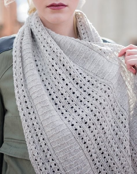 Knitting Pattern for Firehouse Alley Infinity Scarf Cowl