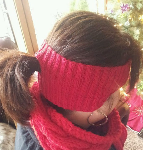 Free Knitting Pattern for Fitness Headband
