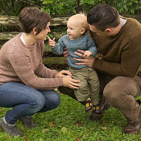 Free knitting pattern for Flax Pullover for whole family