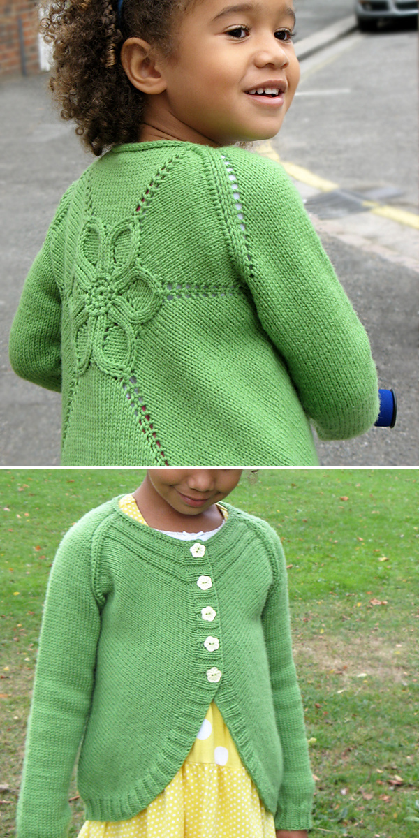 Cardigans For Children Knitting Patterns In The Loop Knitting