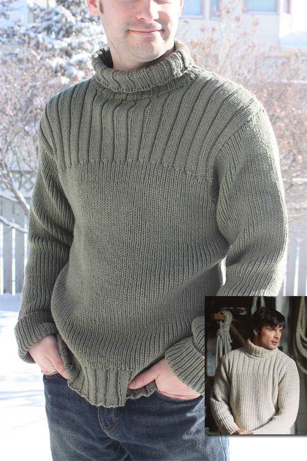 Free Knitting Pattern for The Fog Sweater