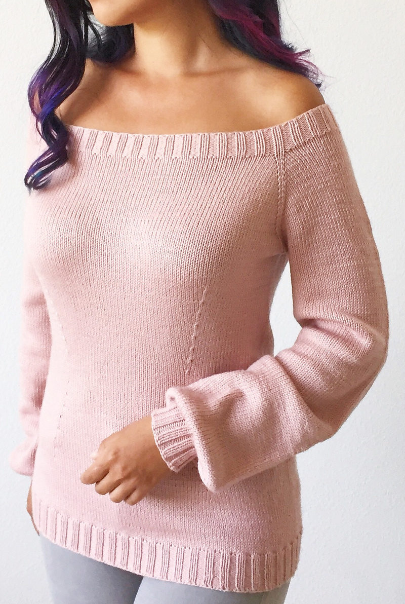 Free Knitting Pattern for Forever April Sweater