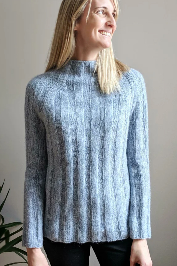 Easy Knitting Pattern for Four Score Sweater