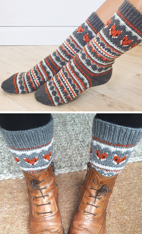 Fox Knitting Patterns- In the Loop Knitting