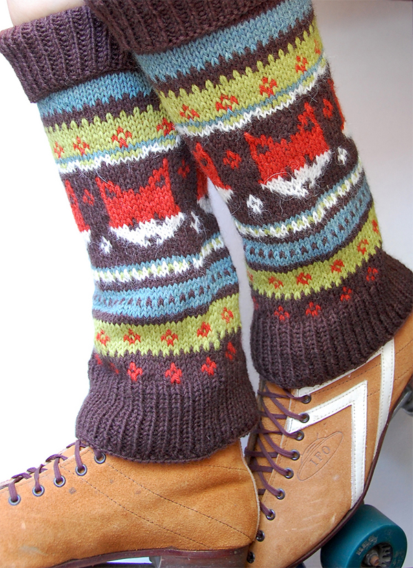 Knitting Pattern for Foxy Legs Legwarmers