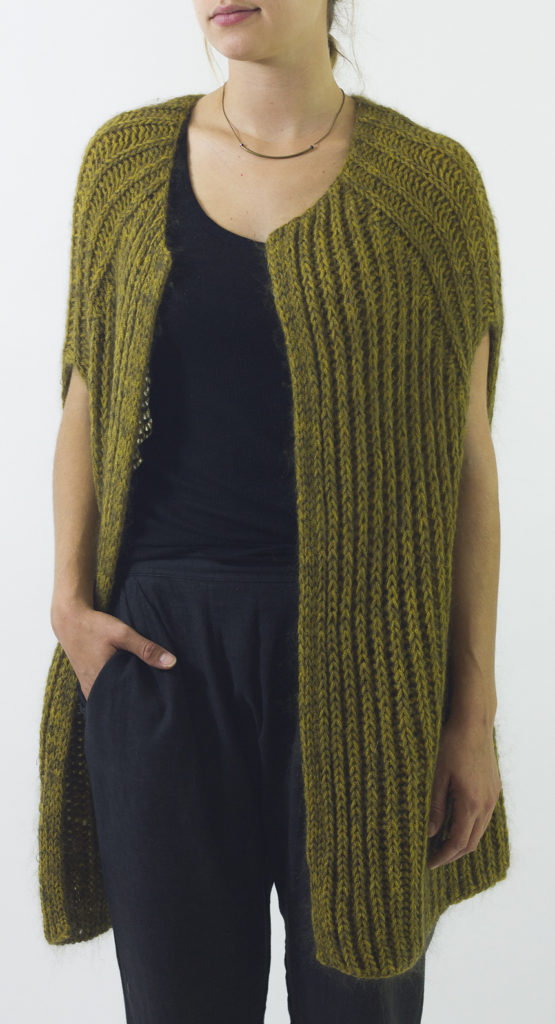 Knitting Pattern for Easy Francis Vest