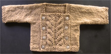 April 2007 Pattern Contest Winner - Presto Chango by Valerie Wallis Sweater Free Knitting Pattern | Free Baby and Toddler Sweater Knitting Patterns including cardigans, pullovers, jackets and more http://intheloopknitting.com/free-baby-and-child-sweater-knitting-patterns/