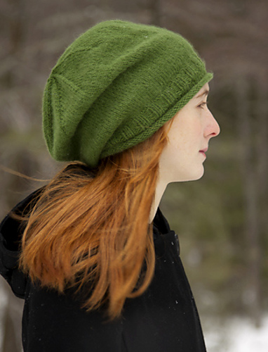 f7691e44 Slouchy Beanie Knitting Patterns- In the Loop Knitting