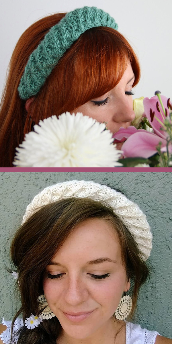 Free Knitting Pattern for Frigg Headband