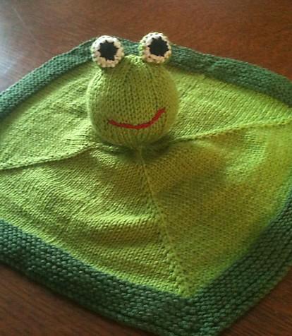 Lovey Security Blanket Knitting Patterns In The Loop