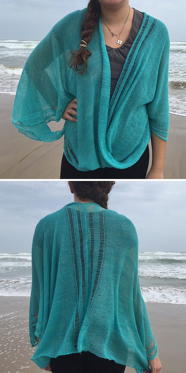 Knitting Pattern for Froth Mobius Wrap
