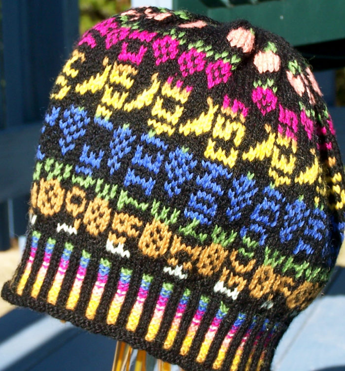 Free Knitting Pattern for Fruit of the Spirit Hat