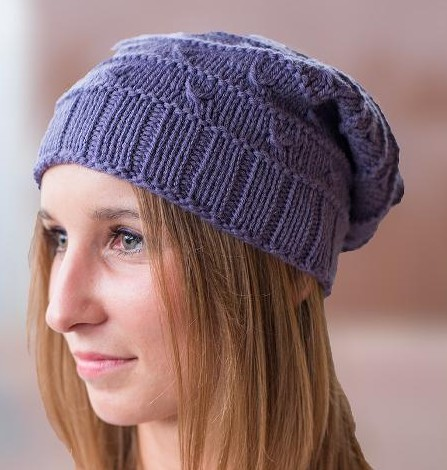 Slouchy Hat Knitting Patterns In The Loop Knitting