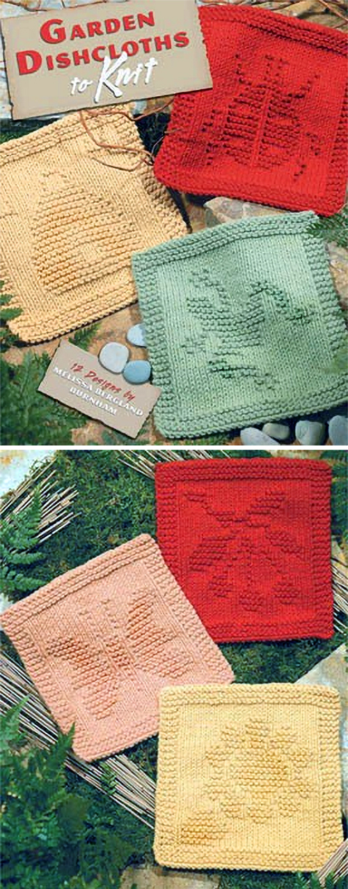 Garden Dishcloths to Knit