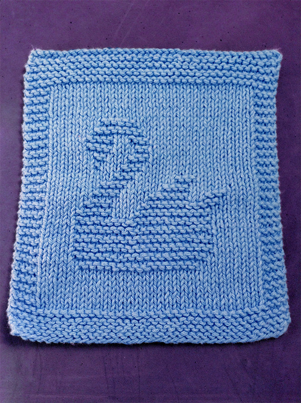 Animal Dishcloth And Washcloth Knitting Patterns In The Loop Knitting