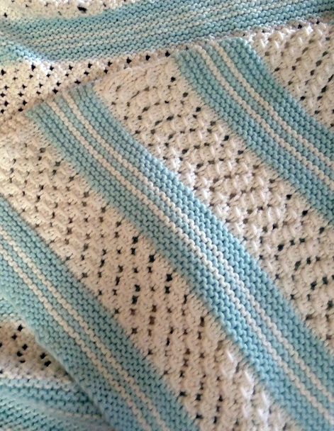 picture regarding Free Printable Knitting Patterns for Baby Blankets named Very simple Little one Blanket Knitting Designs - Within just the Loop Knitting