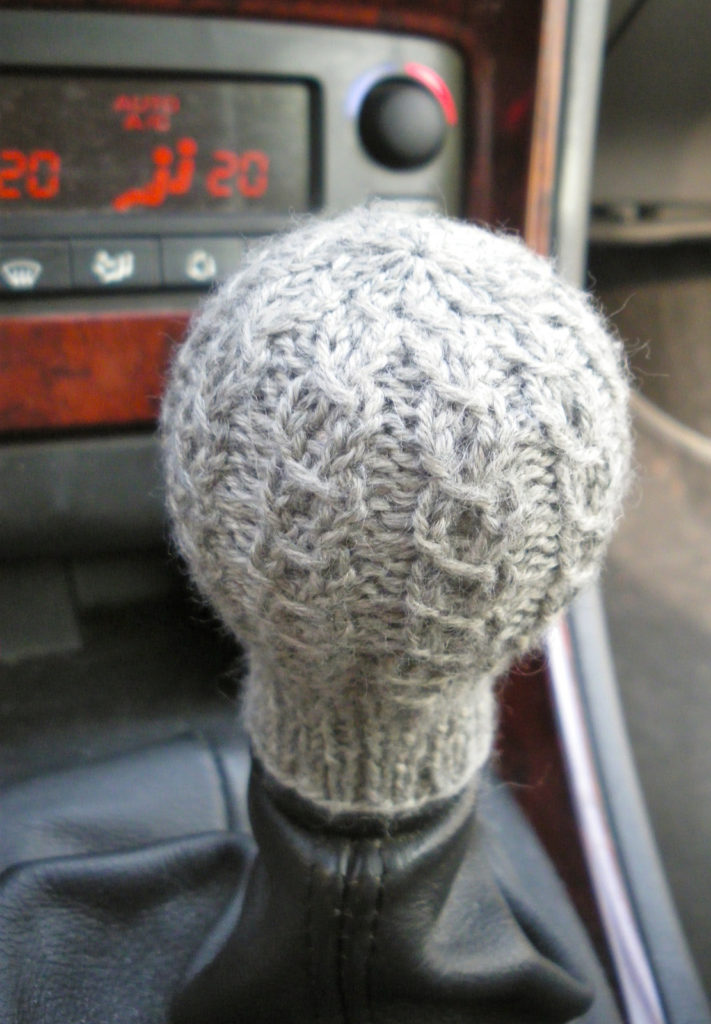 Free Knitting Pattern for Gear Stick Sock