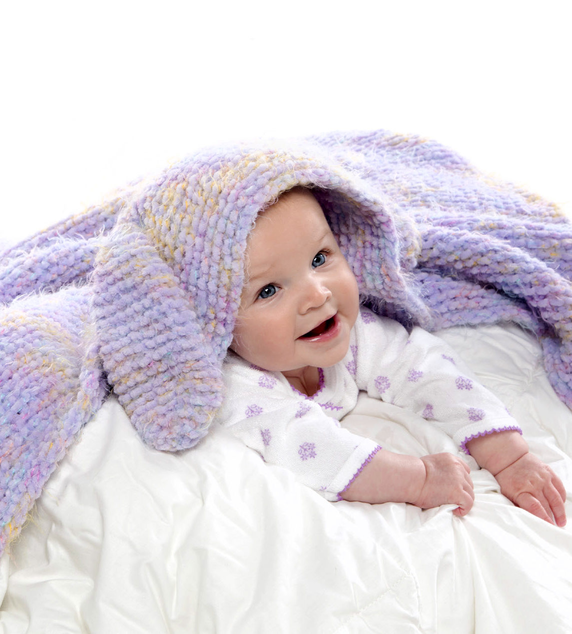Free Knitting Pattern for Snuggle Bunny Blanket