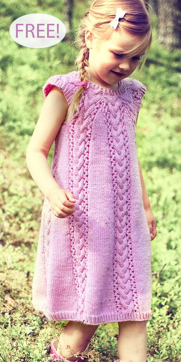 Dresses and Skirts for Babies and Children Knitting Patterns