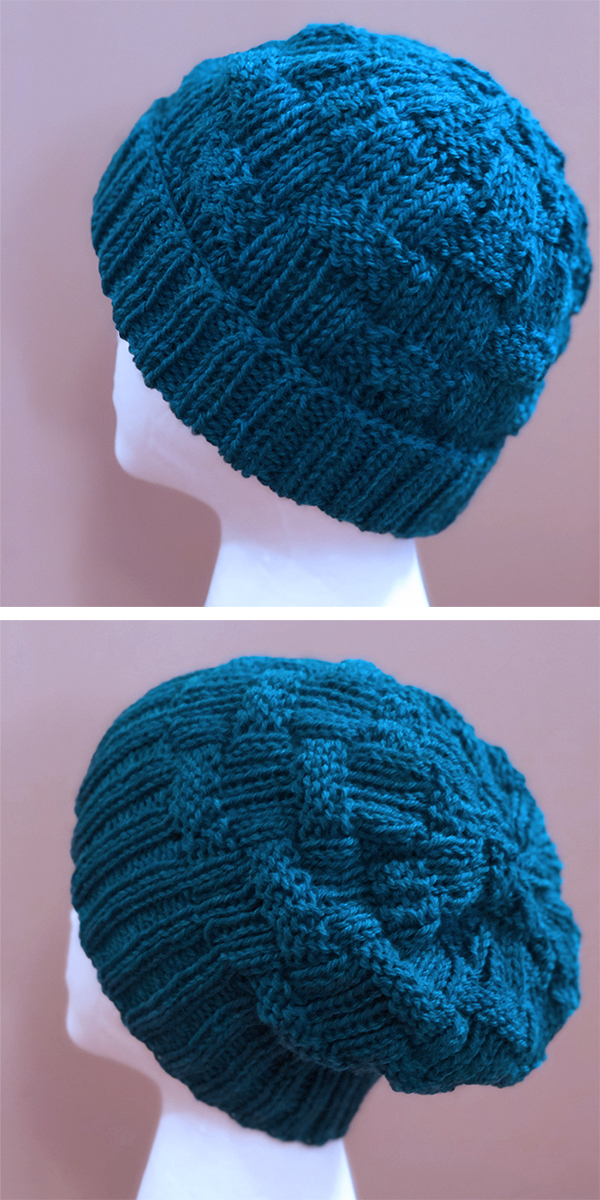 Knitting Pattern for Glades Road Hat