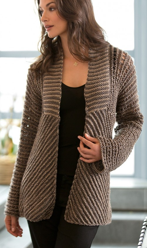 151b1c566 Jacket and Coat Knitting Patterns - In the Loop Knitting