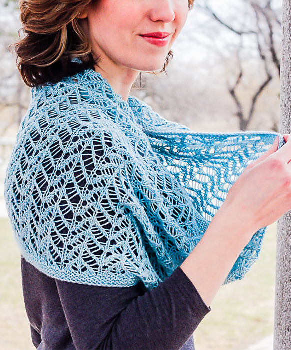 Knitting Pattern for Glamour Loop