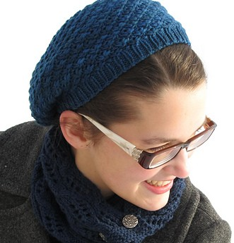 932197796b1 Free knitting pattern for Godric Hollows Hat slouchy beanie inspired by hat  Hermione Granger wore in