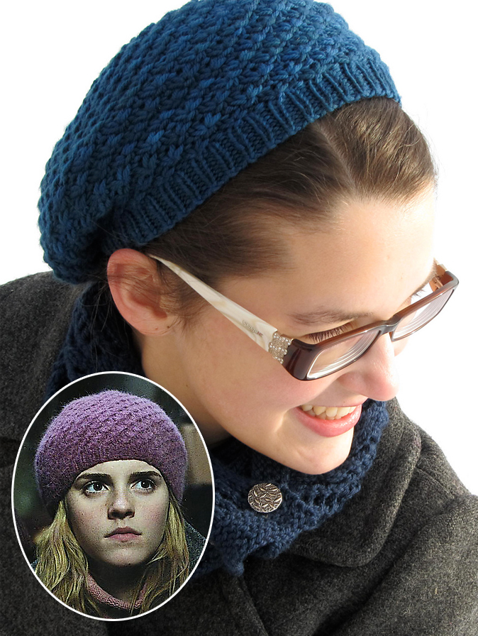 Free Knitting Pattern for Godric's Hollow Hat