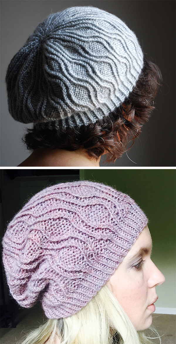 Free Knitting Pattern for Amanara Beret