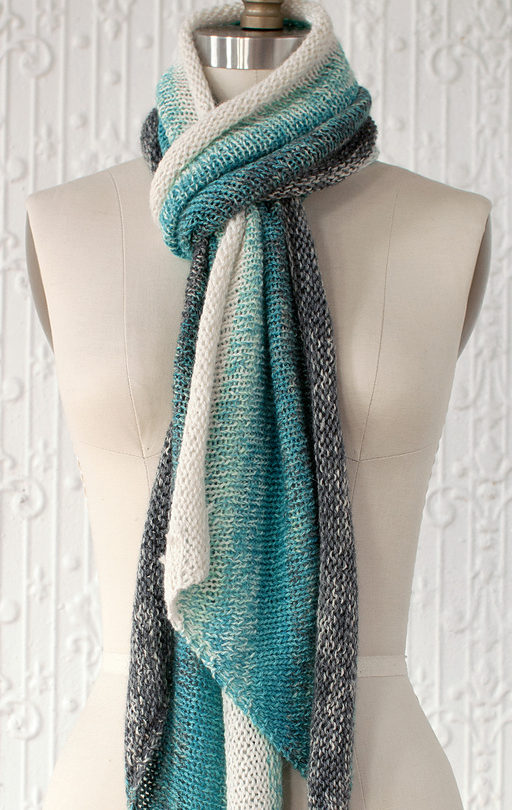 Knitting Pattern for Gradient Scarf