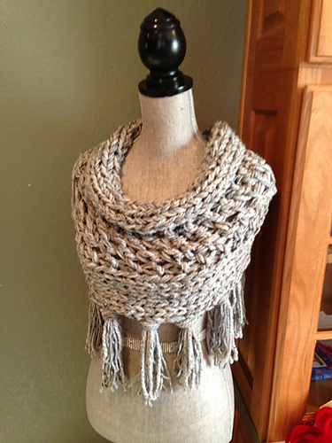 Gray 3-Strand Cowl Free Knitting Pattern and more free cowl knitting patterns at http://intheloopknitting.com/cowl-knitting-patterns/