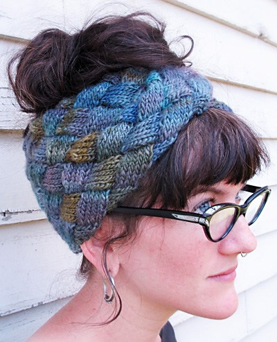 Grey Gardens Entrelac Free Knitting Pattern