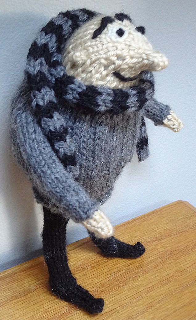 Free Knitting Pattern for Gru Toy