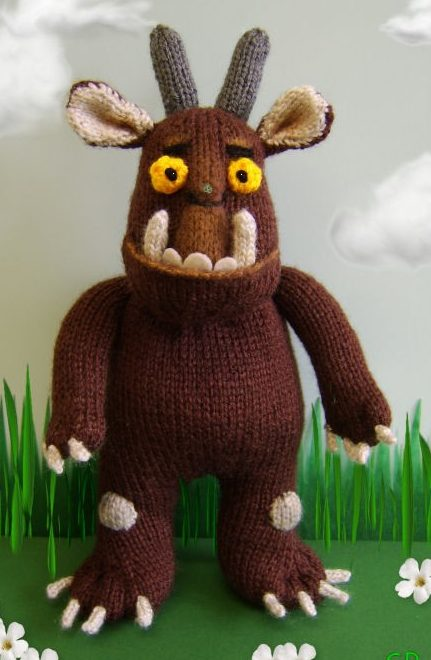 Knitting Pattern for Gruffalo Toy