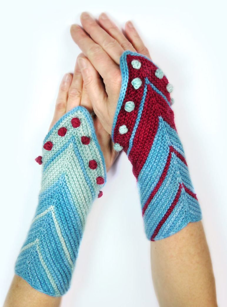Knitting Pattern for Hamburg Ahoi Mitts