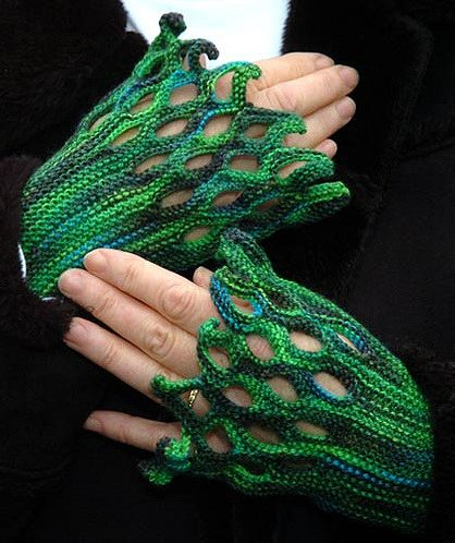 Free Knitting Pattern for Hand-Charmer Mitts