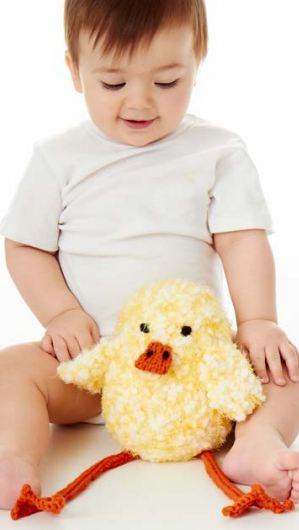 Happy Go Lucky Ducky free knitting pattern