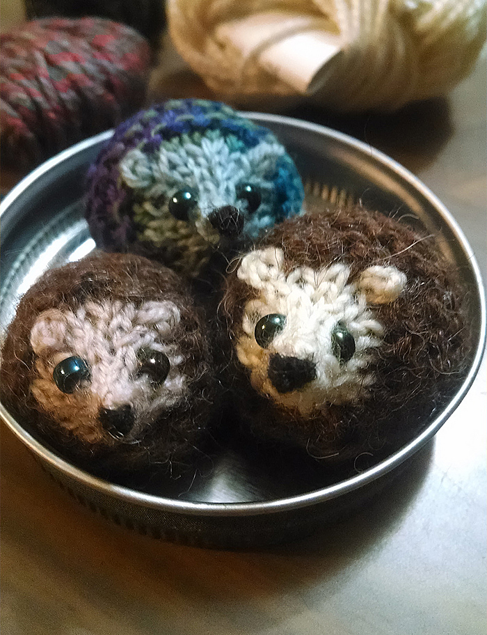 Free Knitting Pattern for Harry Hedgehog