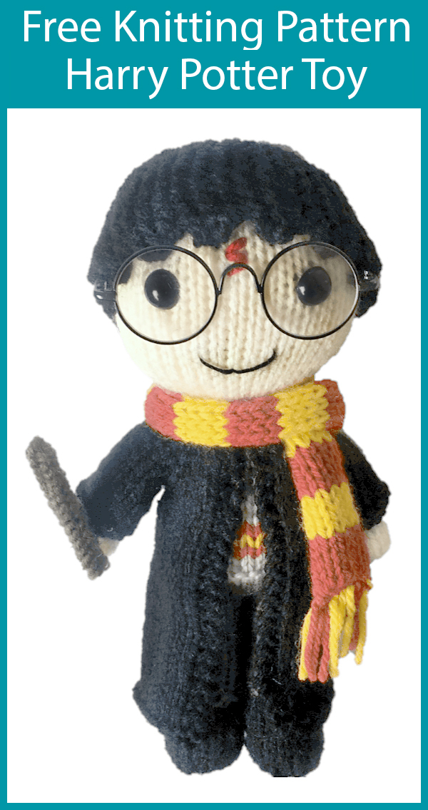 Free Knitting Pattern for Harry Potter Doll