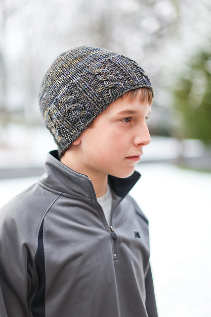Free knitting pattern for Fisher Cable Hat and more knitting patterns for men