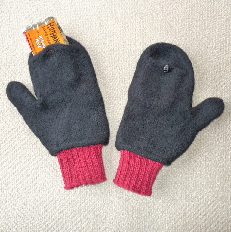 Free Knitting Pattern for Heat Relief Mittens