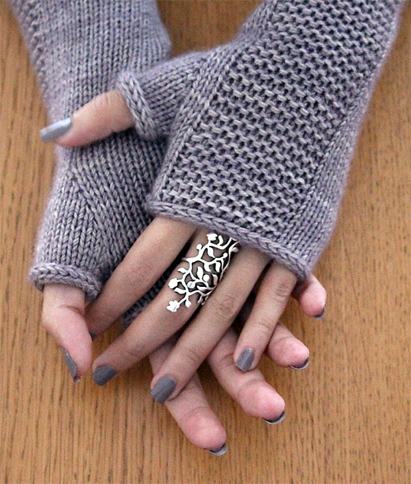 Knitting Pattern for Heaven Mitts